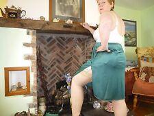 Kelly Green Vassarette Vintage Half Slip XL