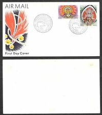 1977 Papua New Guinea First Day Cover - Headress