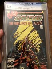 Crisis on Infinite Earths #8 CGC 9.6 Death of the Flash