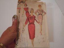 Vintage Simplicity Pattern # 3842 Ladies Dresses