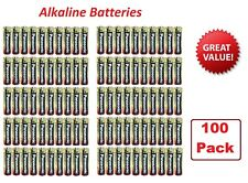 (100 Pack) Alkaline AA - 1.5v - Panasonic Batteries (Exp 2025)