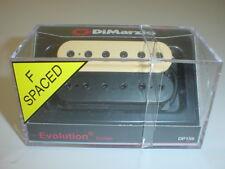 Dimarzio DP159 Evolution Bridge Humbucker Guitar Pickup BLACK / CREAM F-SPACING
