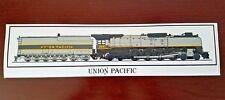 Union Pacific 844 Steam Locomotive Bumper Sticker - Decal