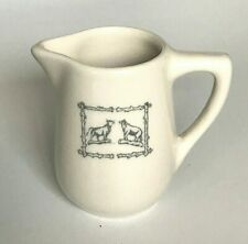 Bull and Bear Creamer Syracuse China Restaurant Ware