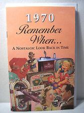 47th Birthday / Anniversary - 1970 Remember When Nostalgic Book Card  - NEW