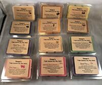 9 TRIPLE SCENT Soy Wax NOOPY'S Candle Melts/Tarts +Bonus 150 Scents Clam Shells