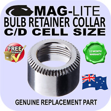 MAGLITE C&D CELL GENUINE BULB RETAINER COLLAR SPARE PARTS FLASHLIGHT AU DELIVERY