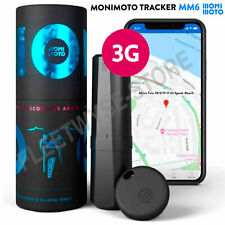 Monimoto MM6 3G Smart Motorcycle Alarm GPS Tracker Motorbike Theft Alert System