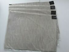 "CHILEWICH BAMBOO CHINO 4 PLACEMATS 14""X19"" NEW"