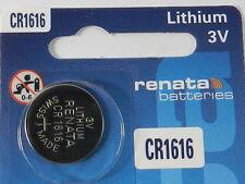RENATA  CR1616 Lithium Baterry 3Volt   - 1Pc