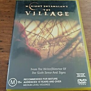 The Village DVD R4 Like New! – FREE POST