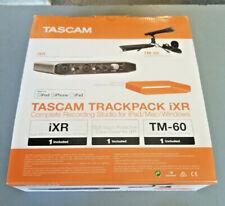 Tascam iXR TRACKPACK, USB Audio Interface Bundle