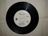 """Propaganda / Depeche Mode – Disco Vinile 45 Giri 7"""" Edizione Promo Juke Box"""