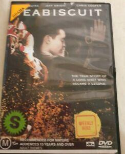 Seabiscuit (DVD, 2004) - VGC - Region 4