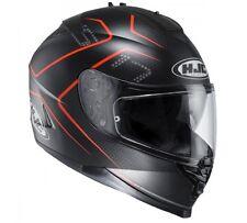 NEW HJC Helm IS-17 Lank schwarz rot matt Gr. L = 59/60 Motorradhelm Sonnenblende