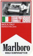 ADESIVO - STICKER ORIGINALE MARLBORO WORLD CHAMPIONSHIP TEAM F1 IMOLA 1980