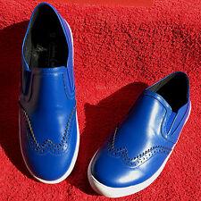 ANDREA CONTI Damen ECHTLEDER Ballerina Slipper Royal Blau Schuhe in Gr. 36 NEU