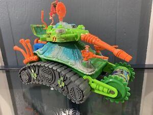 Vintage Teenage Mutant Ninja Turtles Turtle Tank 100% Complete 1991