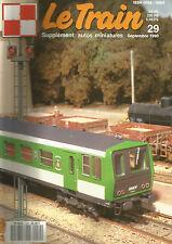 LE TRAIN N°29 CC 72000 / 050 TQ REGION NORD /AUTORAILS X 2100-X2200 /WAGON SGSS