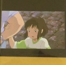 35mm Film Cells 3 Flames Spirited Away Chihiro Ticket Rare![Ghibli]#A47