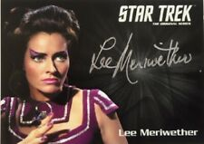Lee Meriwether Silver Autograph, Star Trek TOS Captain's Collection