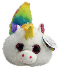 Fiesta Fursians Unicorn New White and Yellow with  Long Rainbow Tail Sugar Rush