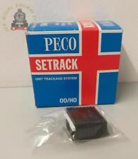 Peco ST-270 Setrack Sleeper Built Buffer Stop - OO Gauge