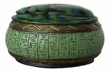 Egyptian Scarab Jewelry Box ~ Museum Store Collection