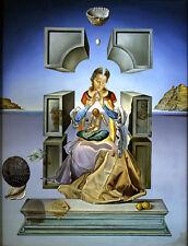 Salvador Dali Madonna reproduction of painting  8X12 canvas print art poster