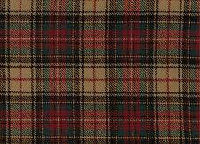 1693/19 Tela Escocesa De Tartán 100% lana pura por metros escocesa a cuadros