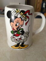 Minnie Mouse Stein Mug Reuttler Porczellan West Germany Rare Coffee Cup