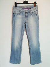 "Esprit Damen Jeans ""Denim 94/07 "" ;  W28 L34 ; hellblau Used Look  Straight Leg"