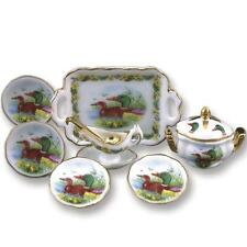 Dollhouse Dinner Set for Four 1.386/8 Reutter Wild Duck soup miniature