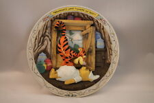 Bradford Exchange 3D Winnie The Pooh And Friends Plate Bouncings What Tiggers