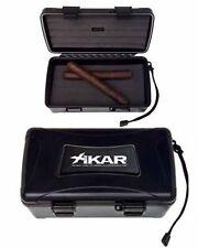 XiKAR 210Xi 10 Cigar Travel Humidor Case with Free Cutter Lifetime Warranty