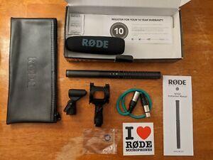 Rode NTG2 Shotgun Condenser Microphone w/ accessories