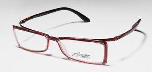 Silhouette 2840 40 6054 54 15 135 Austria Eyeglasses Frame Flexible Glasses Rose