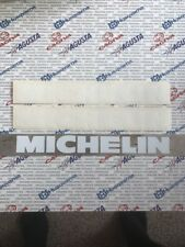 "(2) Authentic Michelin Premium Vinyl Decal Sticker 9"" X 1"" Car Truck Motorcycle"