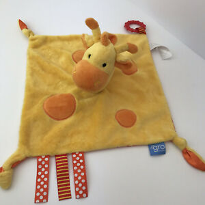 Gerri Giraffe Baby Comforter /Teether Soft Toy The Gro Company Taggies