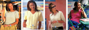 Dale of Norway Leaflets: Women's Summer Tops NOS