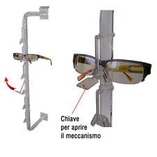 Porta-Occhiali con Anti Taccheggio per Pannelli Dogati