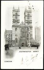 1903 LONDON ~ WESTMINSTER ABBEY ~ GALE & POLDEN, Wellington Series