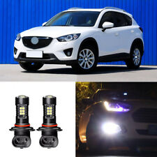 2x Canbus H11 3030 21SMD LED DRL Daytime Running Fog Lights Bulbs For Mazda CX-5
