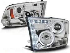 DODGE RAM 1500 2500 3500 2009 2010 2011 LPDO07 FARI ANTERIORI HALO LED