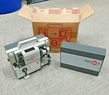 Eumig Mark 8 Super 8 Standard 8 Retro Cine Reel Film Movie Projector Boxed
