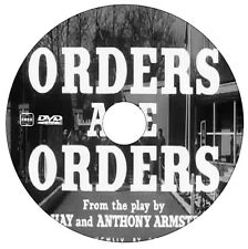 Orders are Orders  - Sid James, Tony Hancock, Peter Sellers - DVD - 1954