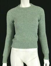 BALENCIAGA Seafoam Green Wool Crew Neck Sweater 42