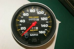 Brand new AutoMeter 5154 Pro-Comp Mechanical Speedometer 5 inch