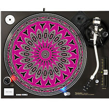 Portable Products Dj Turntable Slipmat 12 inch - Shark Tooth