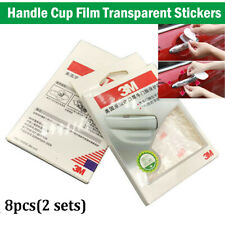 8PCS 3M Clear Door Cup Handle Paint Scratch Protection Guard Film Self-adhesive